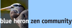 Blue Heron Zen Community Retina Logo